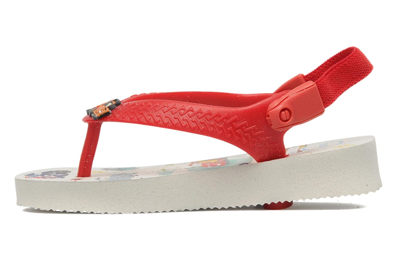 Slippers Havaianas Baby Cars Rood voorkant