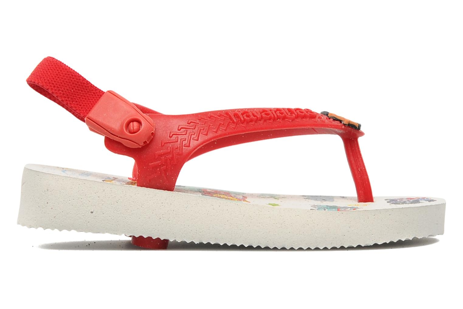 Slippers Havaianas Baby Cars Rood achterkant