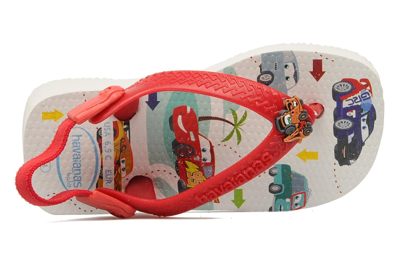 Slippers Havaianas Baby Cars Rood links