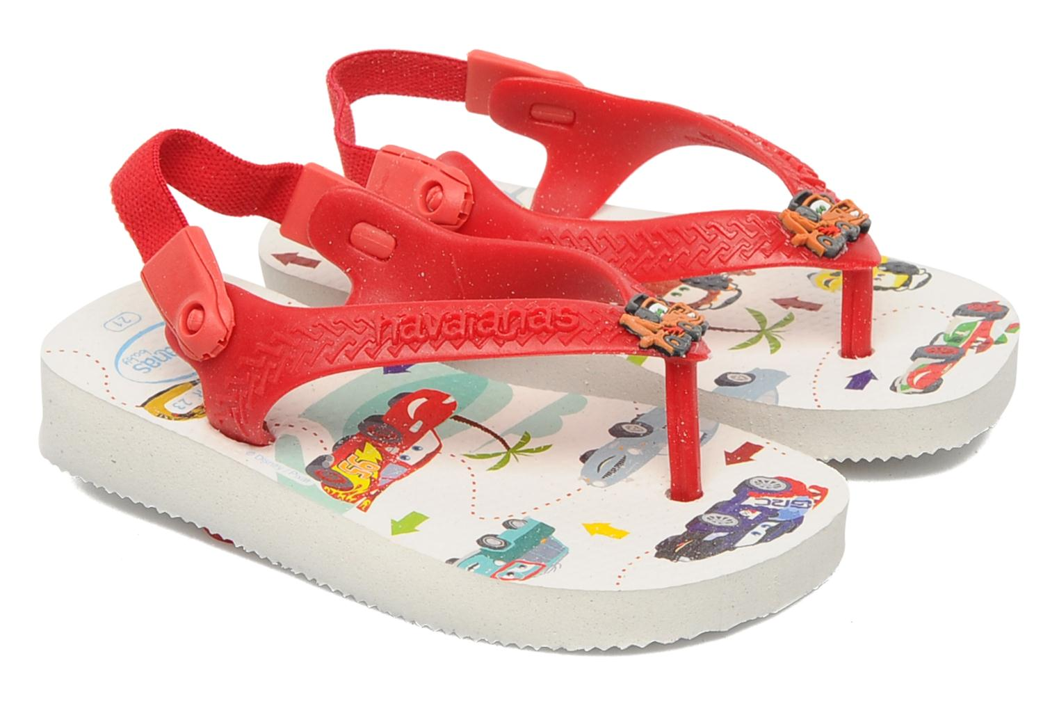 Slippers Havaianas Baby Cars Rood detail