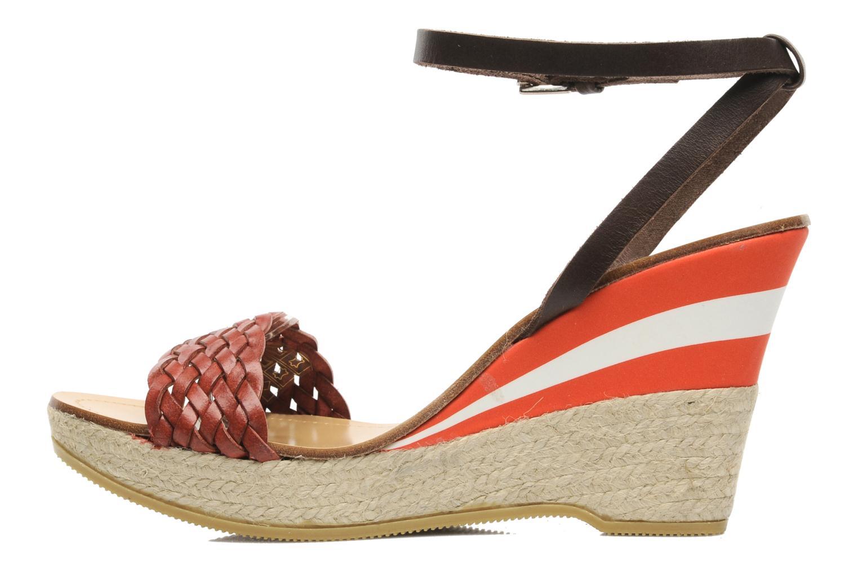 Sandalen U.S Polo Assn. Dora Rood voorkant