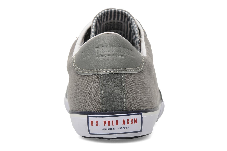 Baskets U.S Polo Assn. Bax Gris vue droite