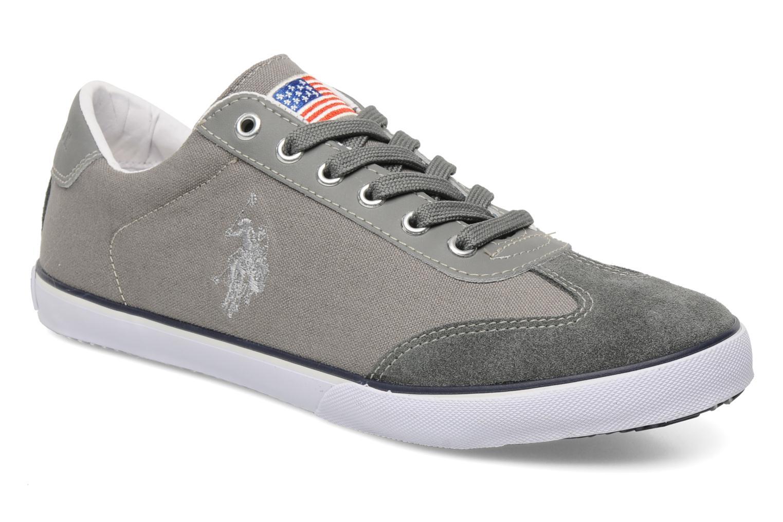 Sneakers U.S Polo Assn. Bax Grijs detail