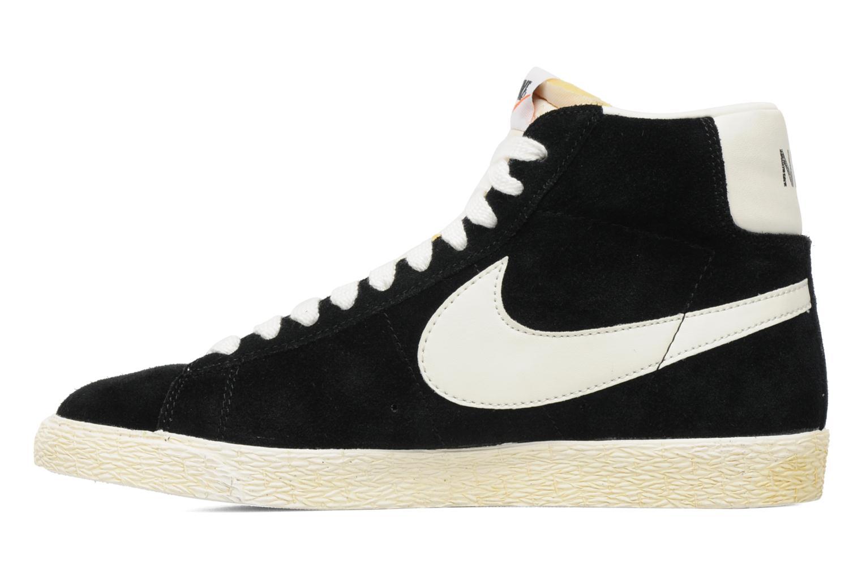 Baskets Nike Blazer High Vintage Noir vue face