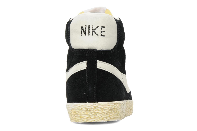 Baskets Nike Blazer High Vintage Noir vue droite