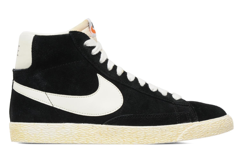 Baskets Nike Blazer High Vintage Noir vue derrière