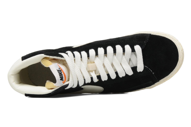 Baskets Nike Blazer High Vintage Noir vue gauche