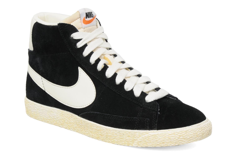 Baskets Nike Blazer High Vintage Noir vue détail/paire