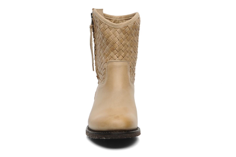 Bottines et boots Sancho Boots Judy Beige vue portées chaussures