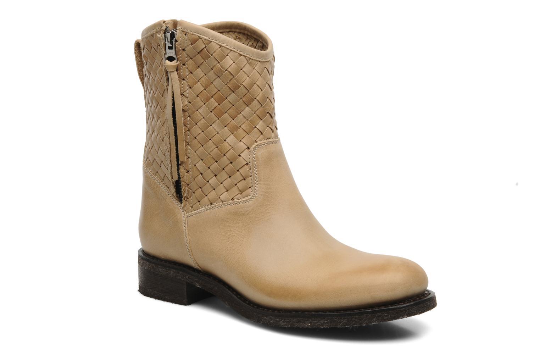 Bottines et boots Sancho Boots Judy Beige vue détail/paire