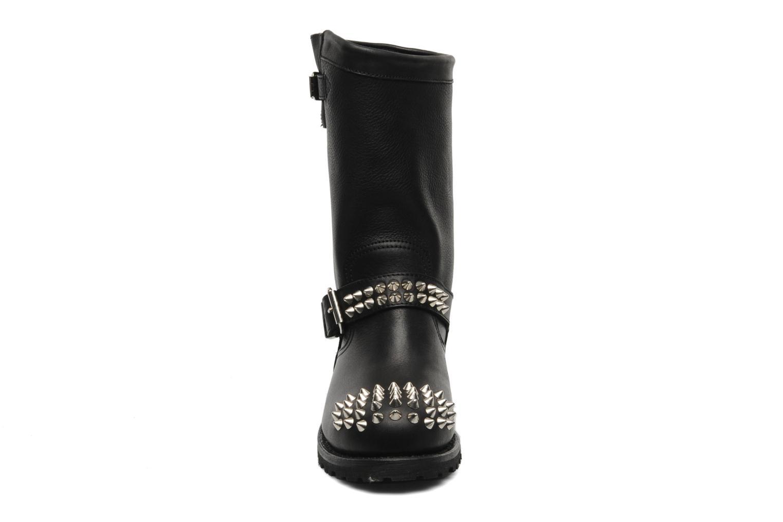 Bottines et boots Sancho Boots Lou Noir vue portées chaussures