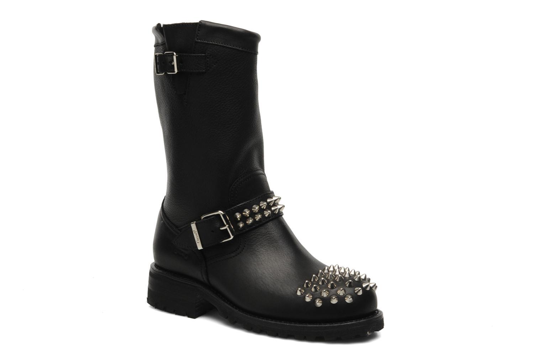 Bottines et boots Sancho Boots Lou Noir vue détail/paire