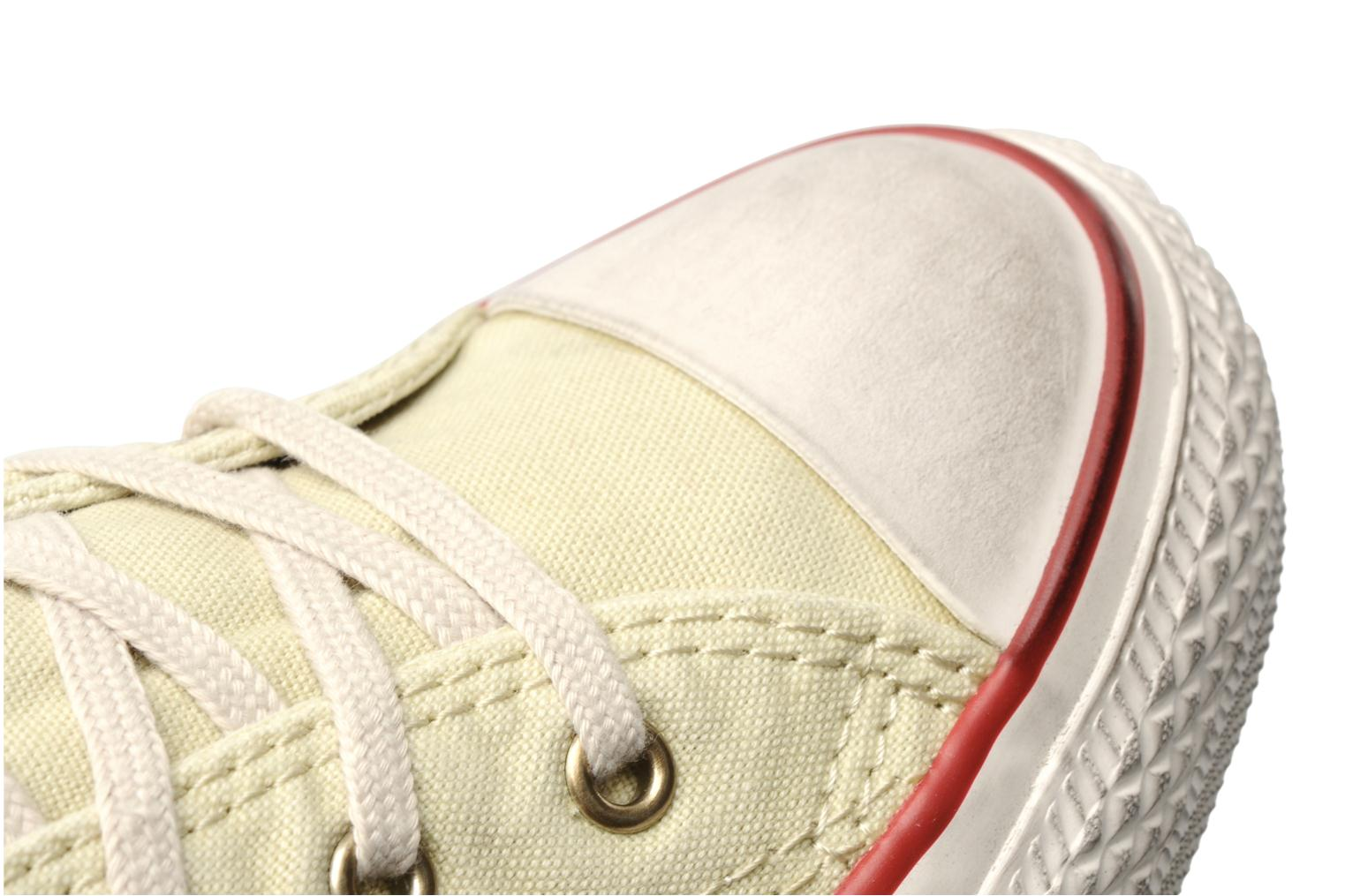 Baskets Converse Chuck Taylor All Star Fashion Washed Ox M Beige vue 3/4