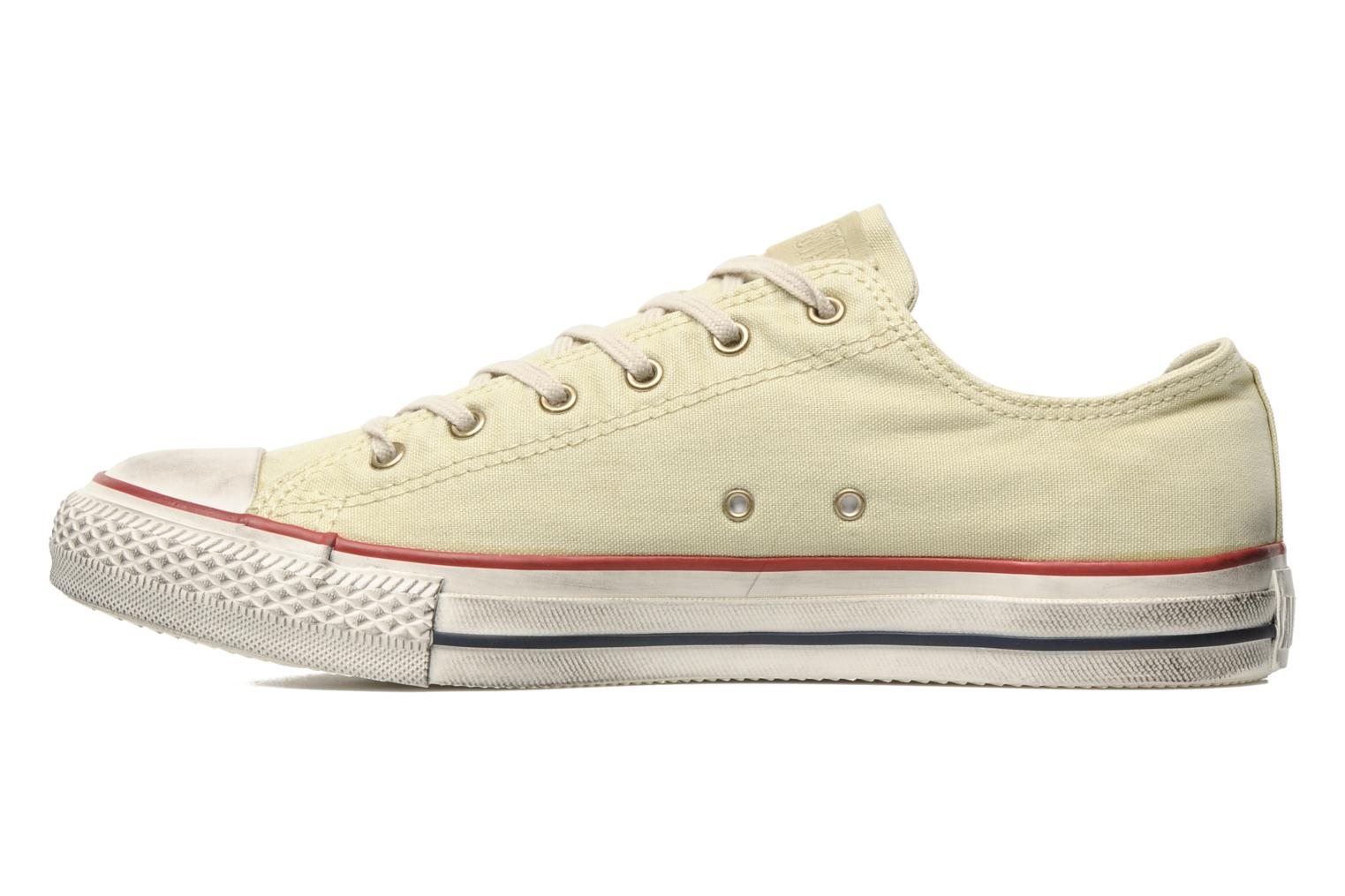 Baskets Converse Chuck Taylor All Star Fashion Washed Ox M Beige vue face