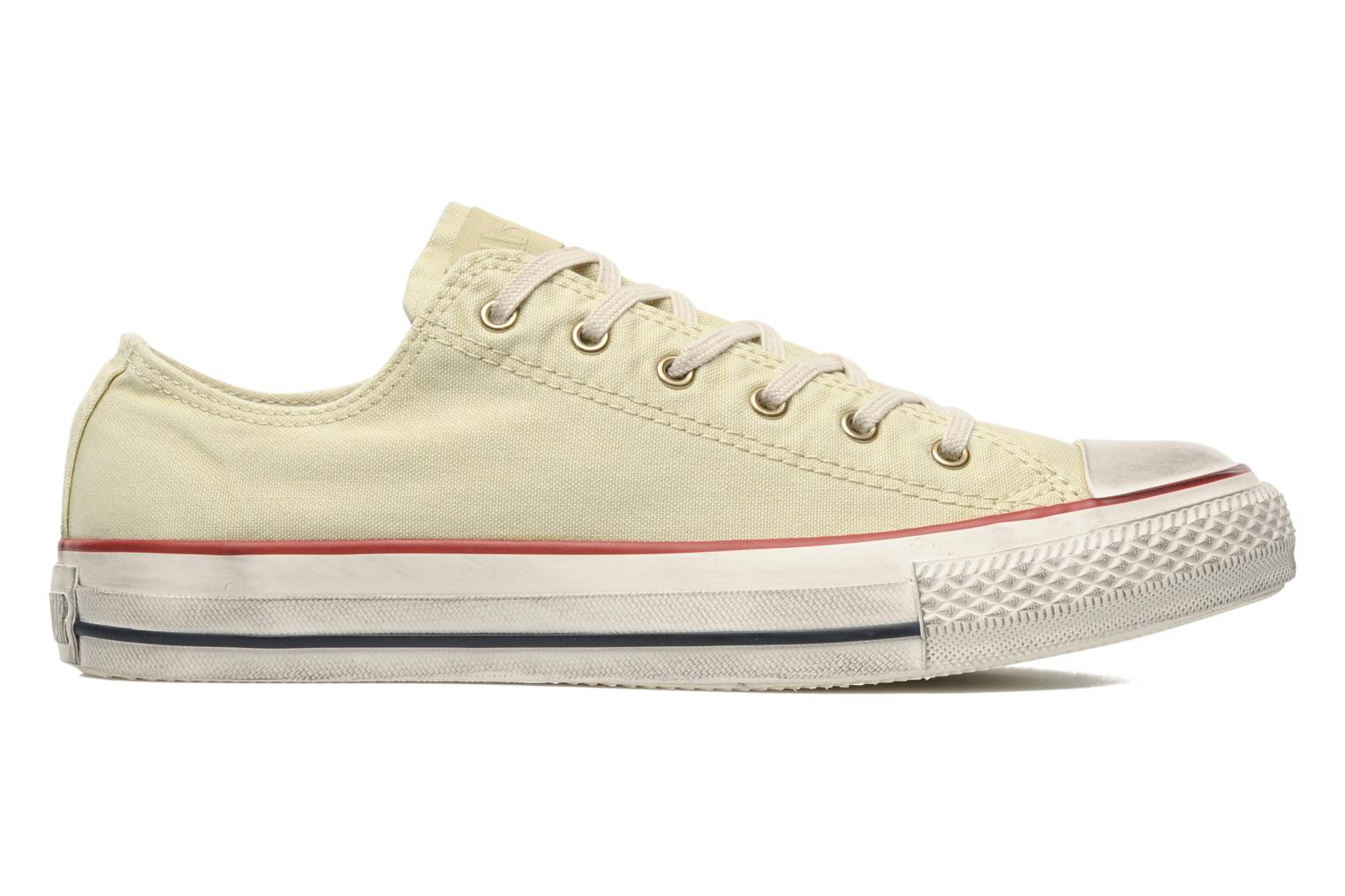 Baskets Converse Chuck Taylor All Star Fashion Washed Ox M Beige vue derrière