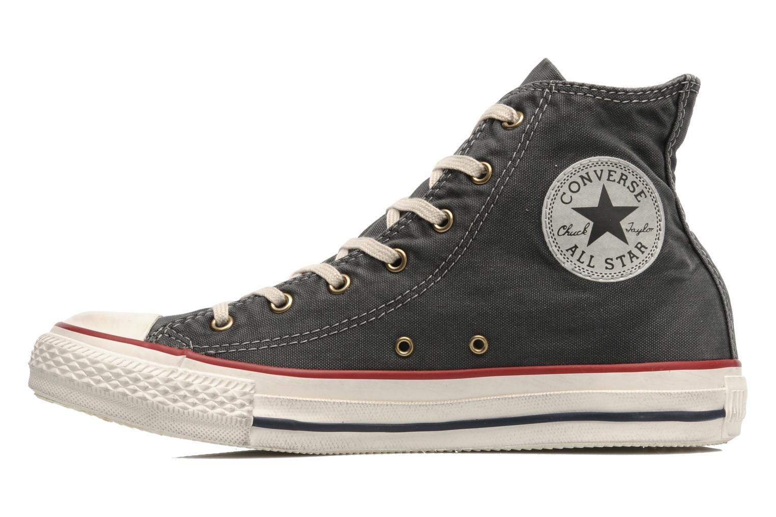 Baskets Converse Chuck Taylor All Star Fashion Washed Hi W Gris vue face