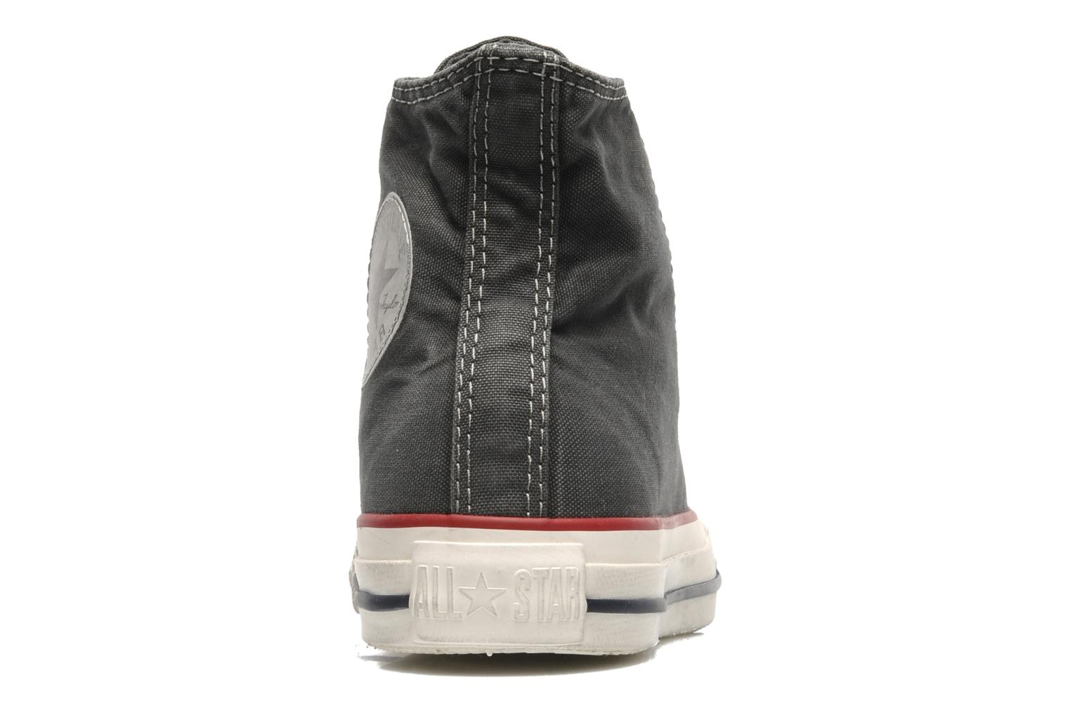 Sneakers Converse Chuck Taylor All Star Fashion Washed Hi W Grijs rechts