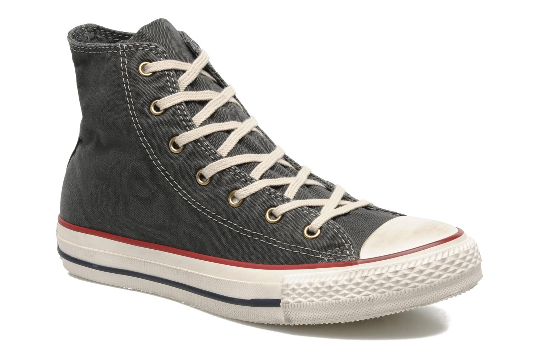 Baskets Converse Chuck Taylor All Star Fashion Washed Hi W Gris vue détail/paire