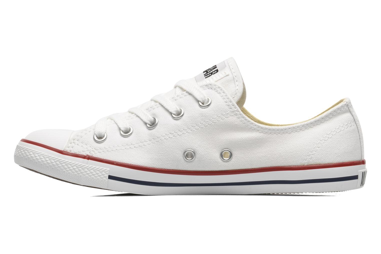 Sneaker Converse All Star Dainty Canvas Ox W weiß ansicht von vorne