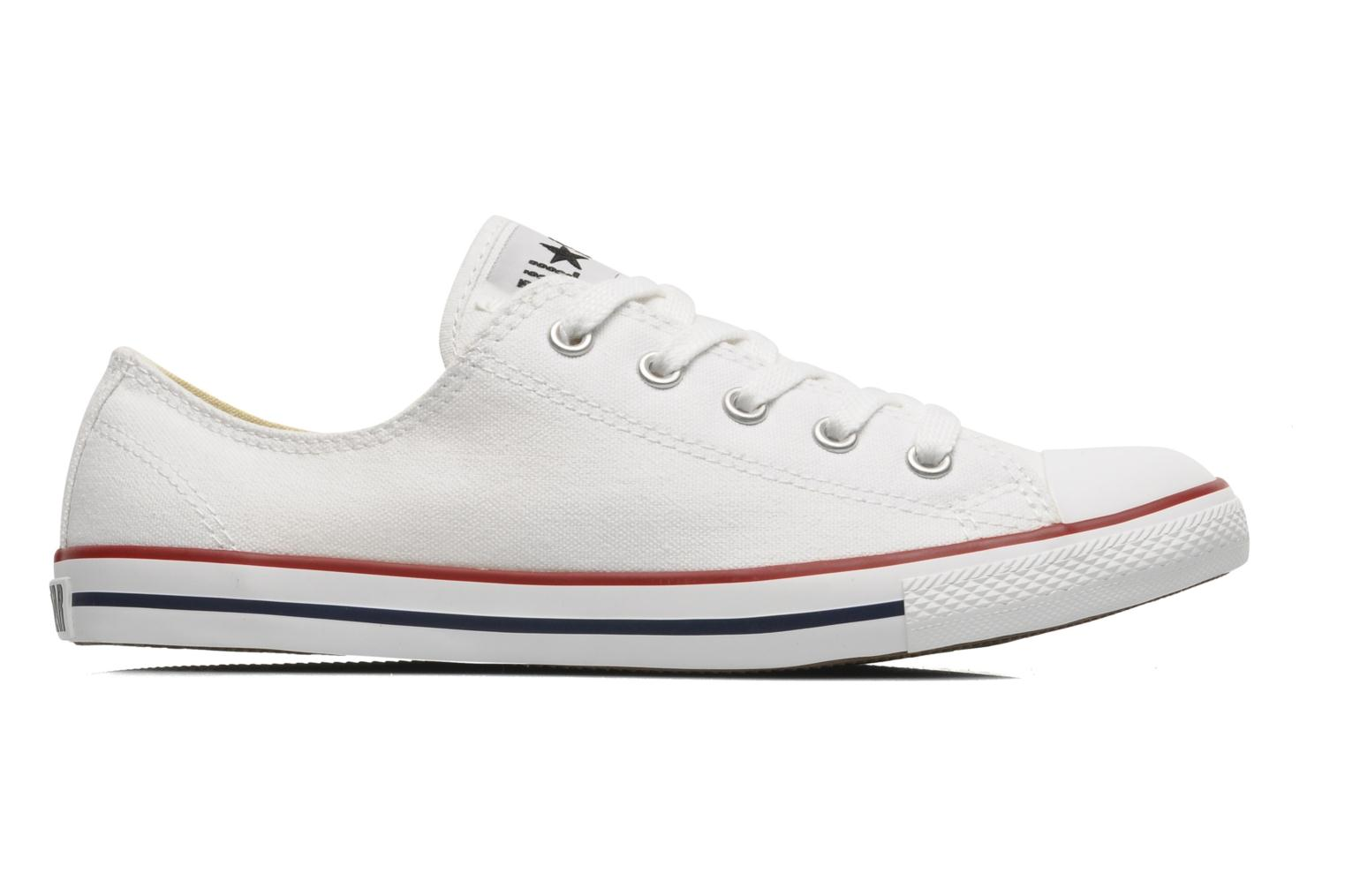 Trainers Converse All Star Dainty Canvas Ox W White back view