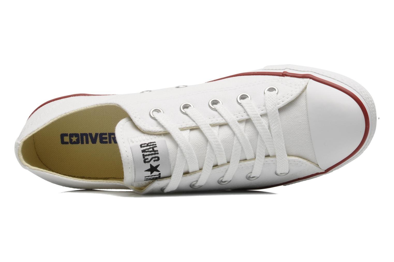 Baskets Converse All Star Dainty Canvas Ox W Blanc vue gauche