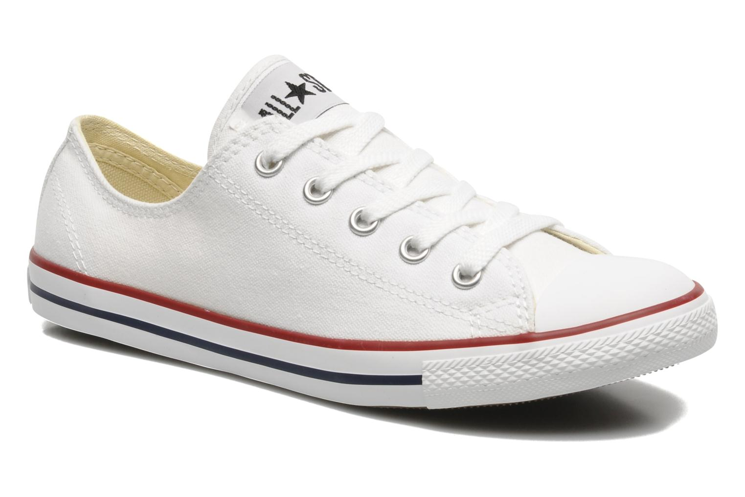 Baskets Converse All Star Dainty Canvas Ox W Blanc vue détail/paire