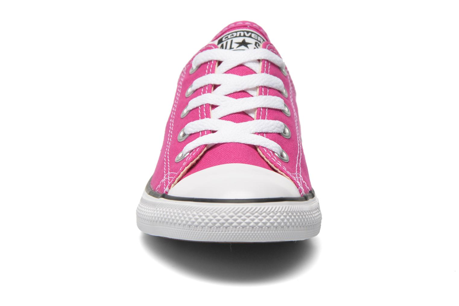 All Star Dainty Canvas Ox W Plastic Pink-Black-White