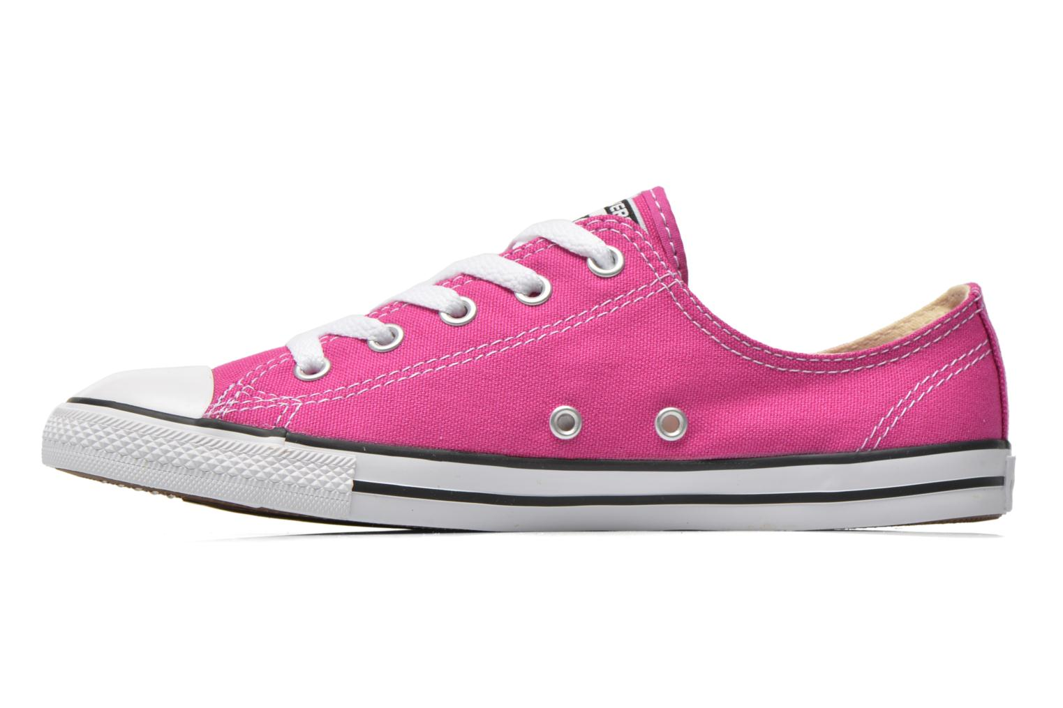Baskets Converse All Star Dainty Canvas Ox W Rose vue face