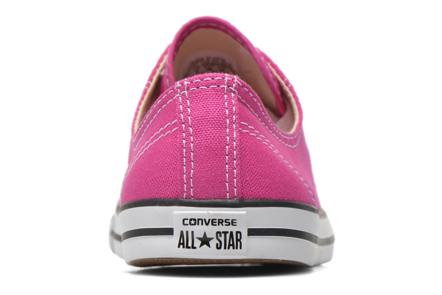 Baskets Converse All Star Dainty Canvas Ox W Rose vue droite