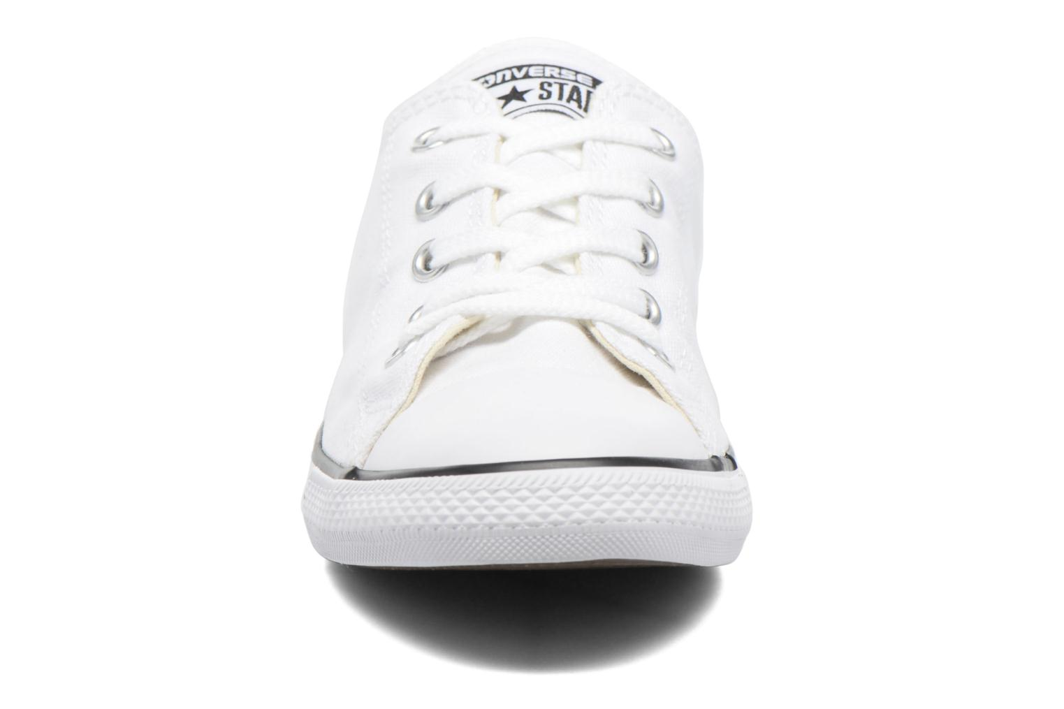 Trainers Converse All Star Dainty Canvas Ox W White model view