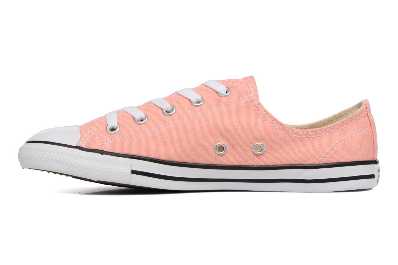 Sneaker Converse All Star Dainty Canvas Ox W rosa ansicht von vorne