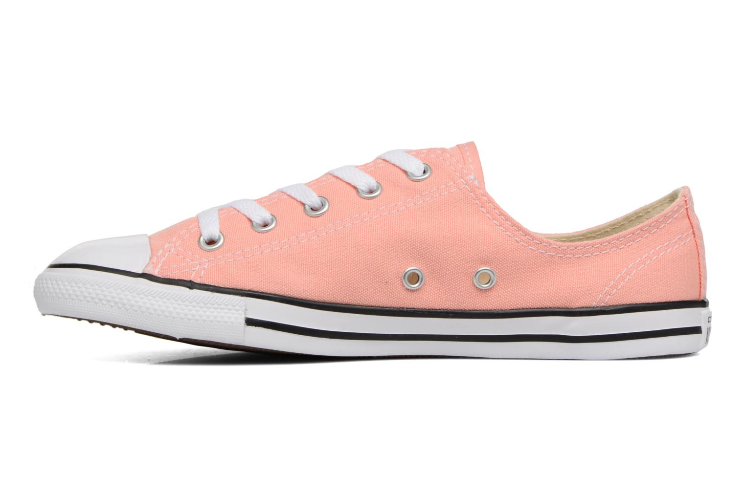 Trainers Converse All Star Dainty Canvas Ox W Pink front view