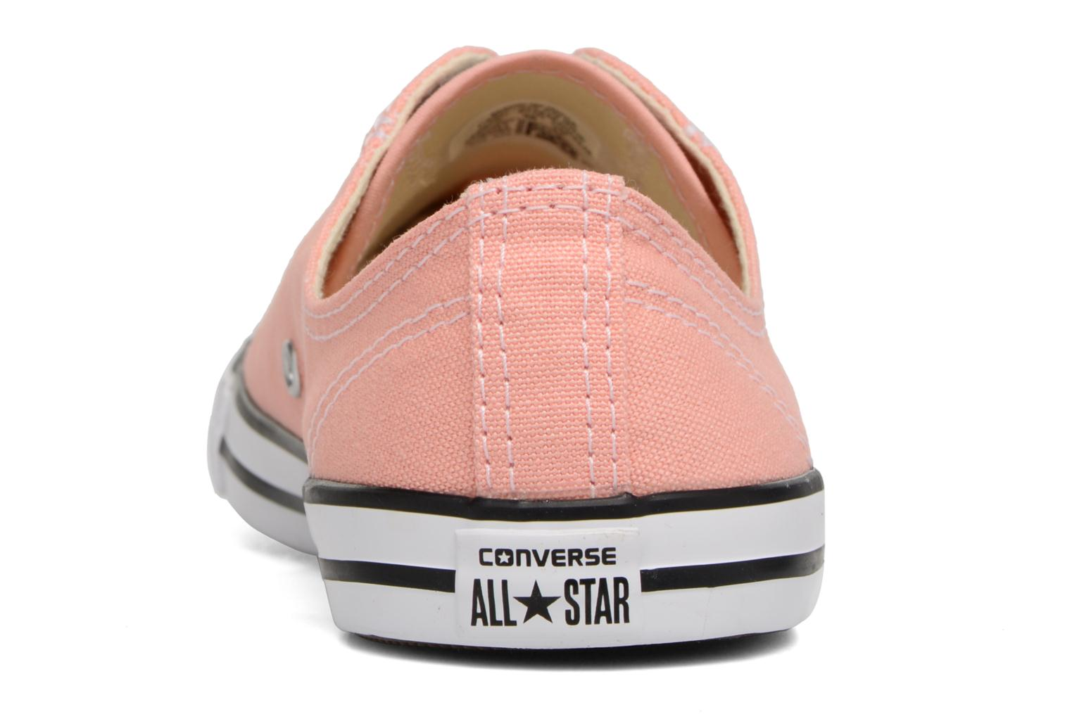 Trainers Converse All Star Dainty Canvas Ox W Pink view from the right