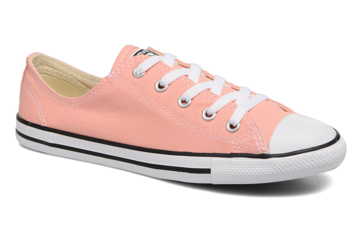 Baskets Converse All Star Dainty Canvas Ox W Rose vue détail/paire