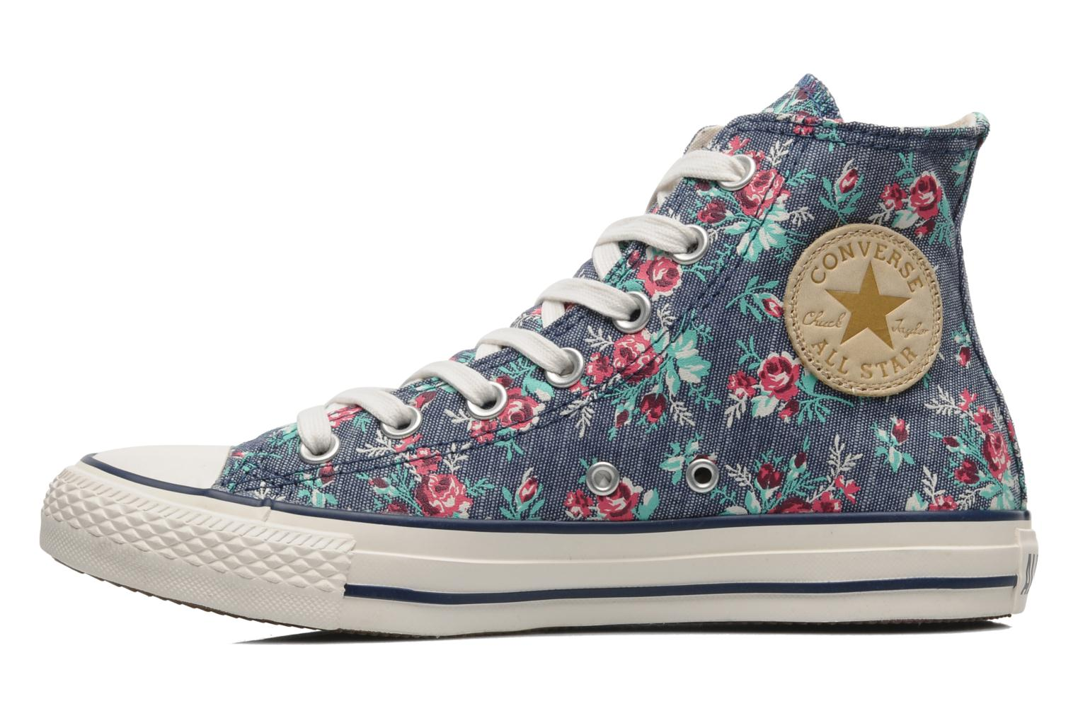 Chuck Taylor All Star Floral Print Hi W Denim Floral