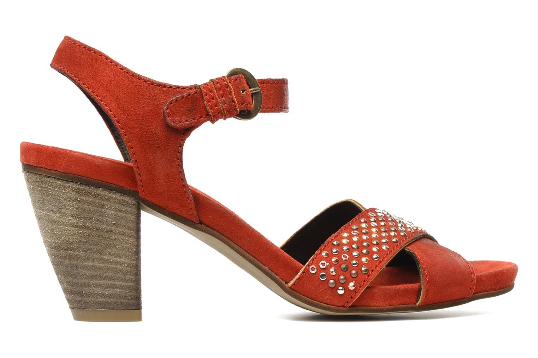 Sandales et nu-pieds Khrio Melton Rouge vue derrière