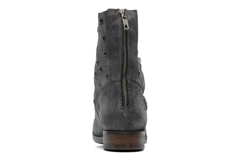 Bottines et boots Khrio Gaba Gris vue droite