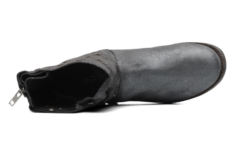 Bottines et boots Khrio Gaba Gris vue gauche