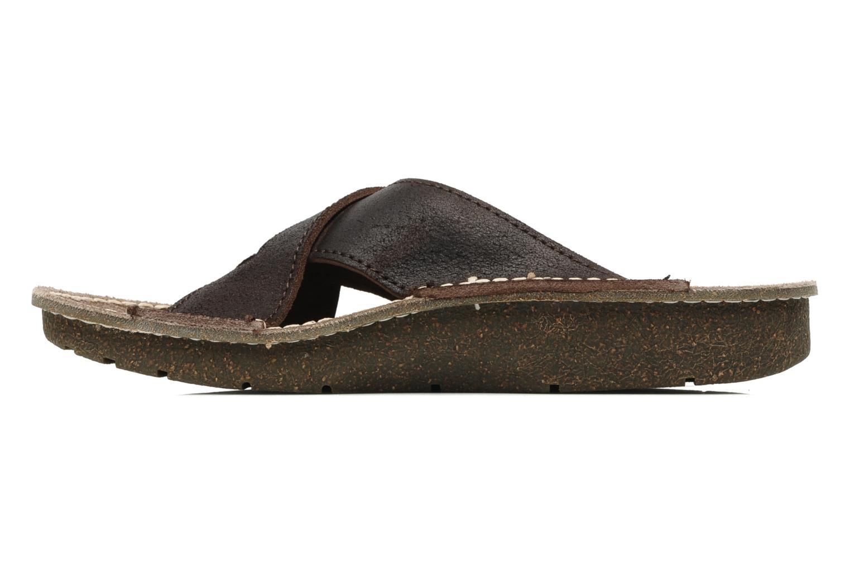 Sandales et nu-pieds El Naturalista Contradicion EL n°220 Marron vue face