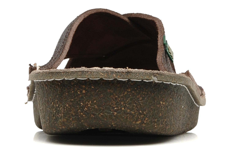 Sandales et nu-pieds El Naturalista Contradicion EL n°220 Marron vue droite