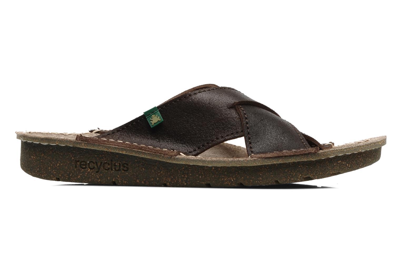 Sandales et nu-pieds El Naturalista Contradicion EL n°220 Marron vue derrière