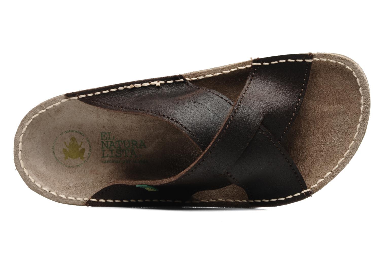 Sandales et nu-pieds El Naturalista Contradicion EL n°220 Marron vue gauche