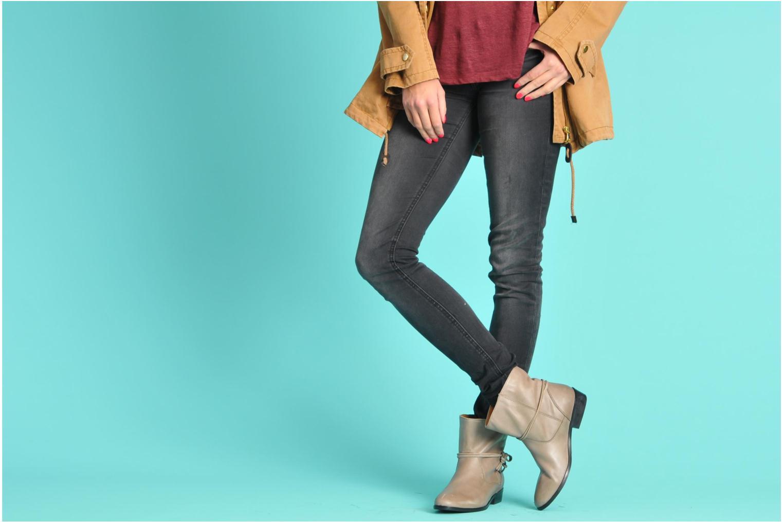 Bottines et boots Georgia Rose Gioris Noir vue bas / vue portée sac