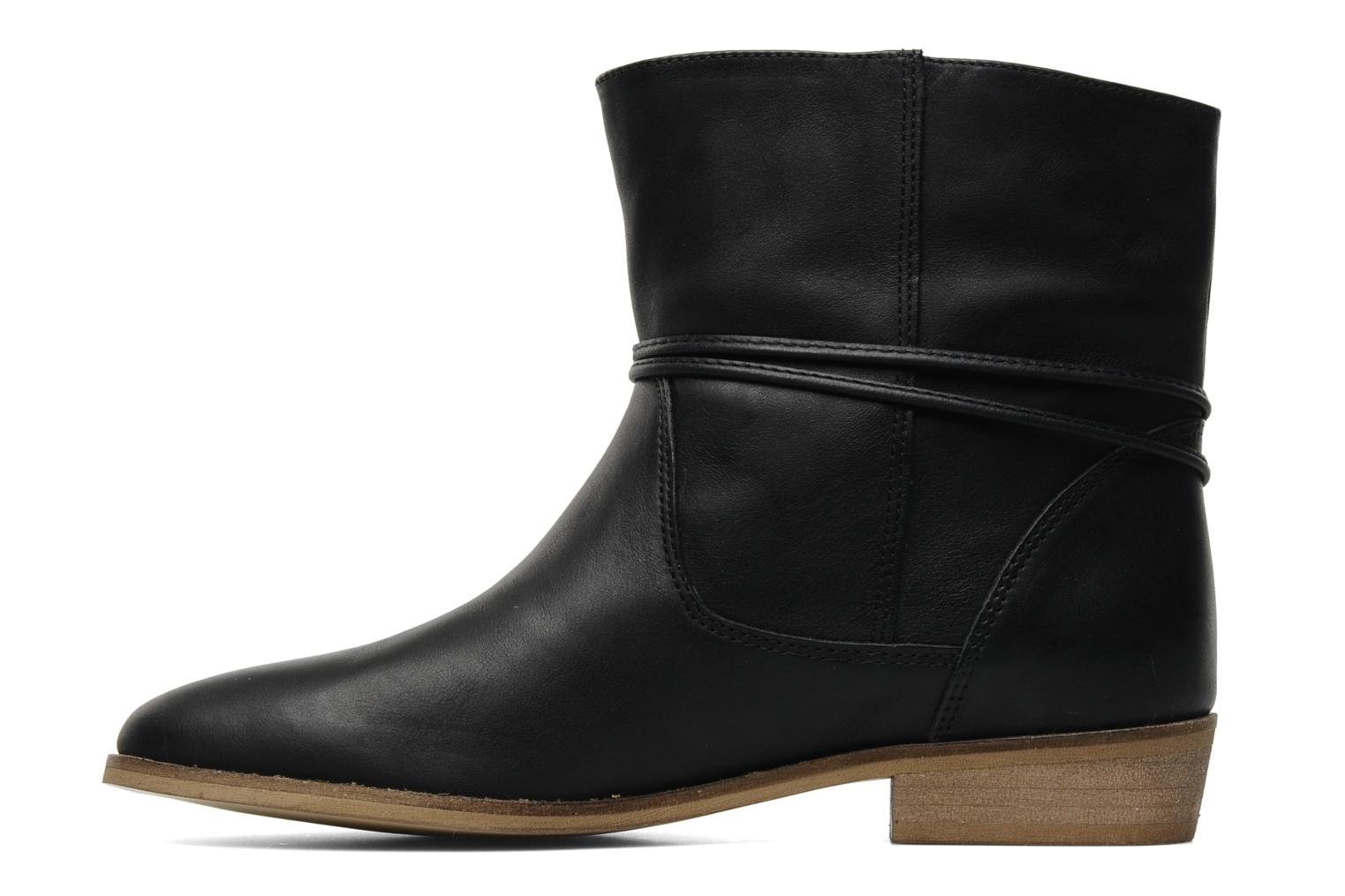 Ankle boots Georgia Rose Gioris Black front view