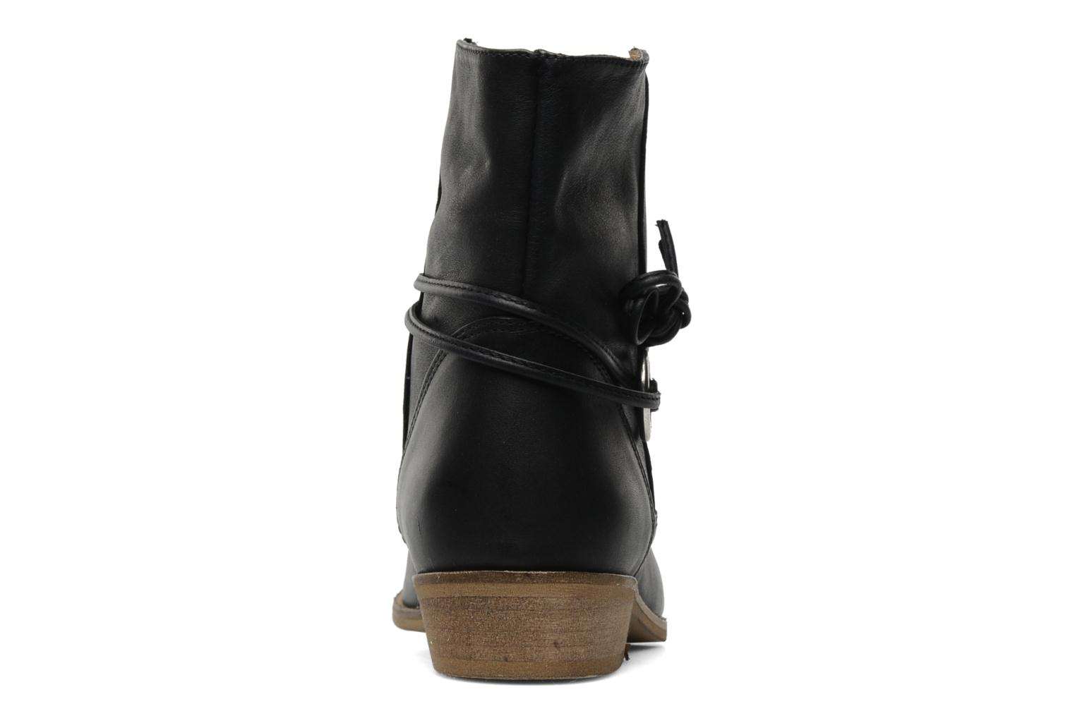 Ankle boots Georgia Rose Gioris Black view from the right