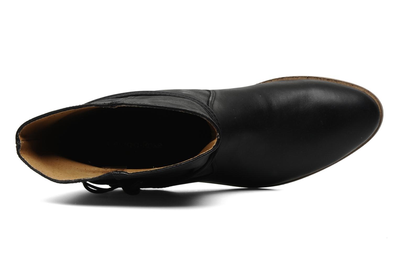 Bottines et boots Georgia Rose Gioris Noir vue gauche