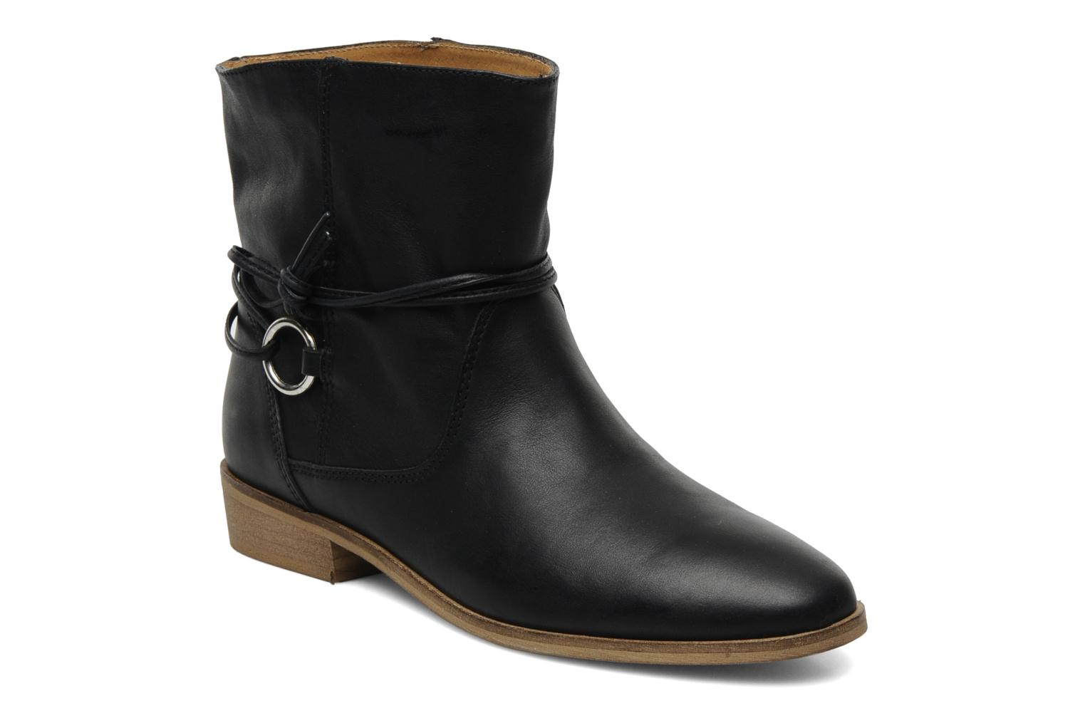 Ankle boots Georgia Rose Gioris Black detailed view/ Pair view