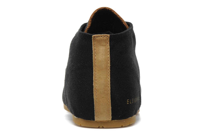 Sneaker Eleven paris Basic Colors H schwarz ansicht von rechts