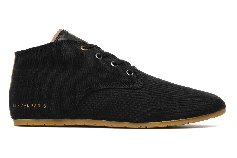 Sneaker Eleven paris Basic Colors H schwarz ansicht von hinten