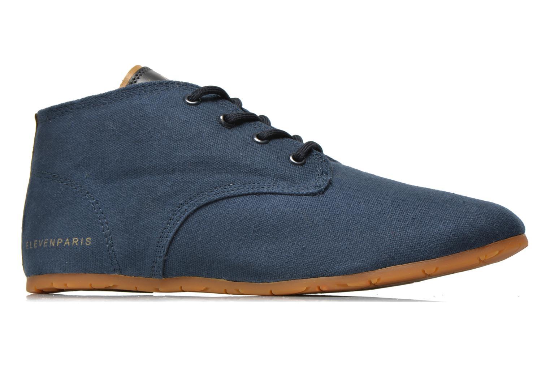 Sneakers Eleven paris Basic Colors H Blauw achterkant